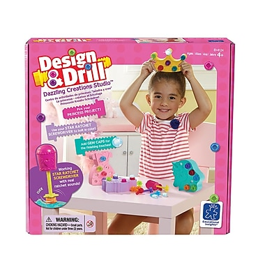 Educational Insights Design And Drill Dazzling Creations 4124