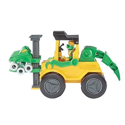 Educational Insights Dino Construction Company™ Snap The Velociraptor Forklift 4159