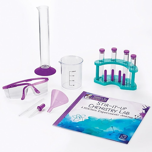 Educational Insights Nancy B's Stir-It-Up Chemistry Lab & Journal - 5356