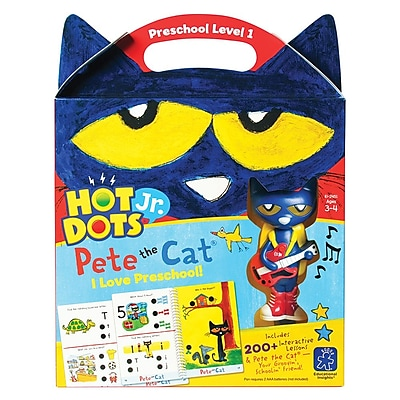 Educational Insights Hot Dots® Jr. Pete The Cat® I Love Preschool 2451