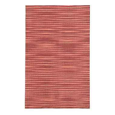 Noble House Marval Red Area Rug; 7'9'' x 10'6''