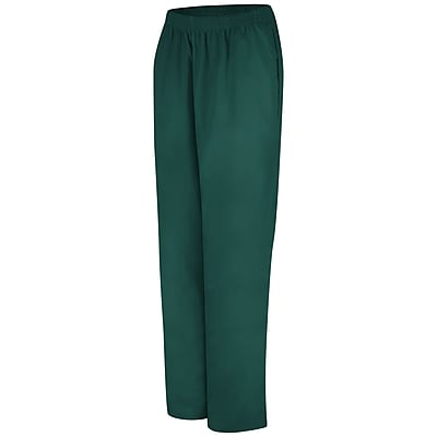 Red Kap Women's Easy Wear Poplin Slacks RG x S, Emerald