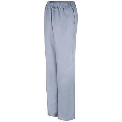 Red Kap Women's Pin cord Slacks RG x M, Navy pin cord