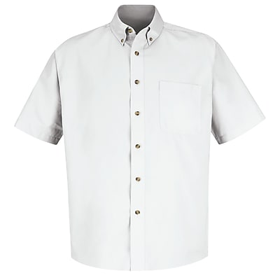 Red Kap Men's Meridian Performance Twill Shirt SS x 6XL, White