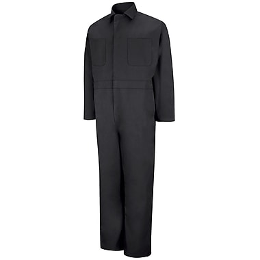 Red Kap Twill Action Back Coverall LN x 58, Black