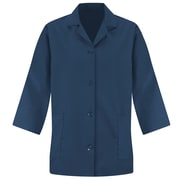 Red Kap Women's Smock 3/4Sleeve RG x S, Navy
