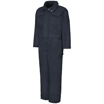 Red Kap Insulated Blended Duck Coverall RG x 5XL, Navy duck
