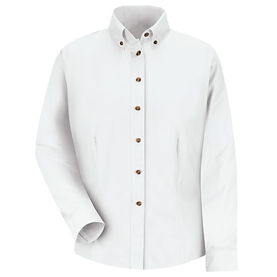 Red Kap Women's Meridian Performance Twill Shirt RG x XL, White