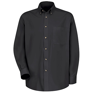 Red Kap Men's Meridian Performance Twill Shirt RG x S, Black
