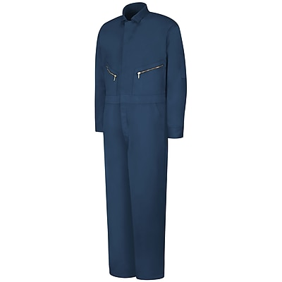 Red Kap Zip-Front Cotton Coverall LN x 54, Navy