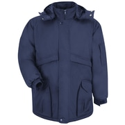 Red Kap  Men's Heavyweight Parka RG x L, Navy