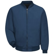 Red Kap  Men's Solid Team Jacket Lined RG x M, Navy