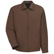 Red Kap  Men's Slash Pocket Jacket RG x 5XL, Brown