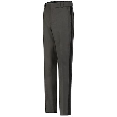 Horace Small Men's Ohio Sheriff Trouser 54R x 37U, Gray heather with black stripe