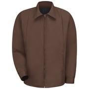 Red Kap  Men's Perma-Lined Panel Jacket RG x 5XL, Brown