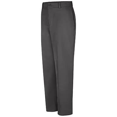 Red Kap Men's Wrinkle-Resistant Cotton Work Pant 35 x 37U, Charcoal