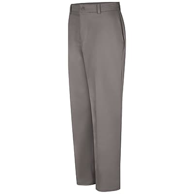 Red Kap Men's Wrinkle-Resistant Cotton Work Pant 34 x 37U, Graphite grey
