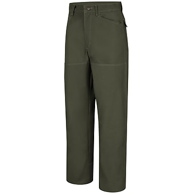 Horace Small Men's Brush Pants 35R x 32, Earth green