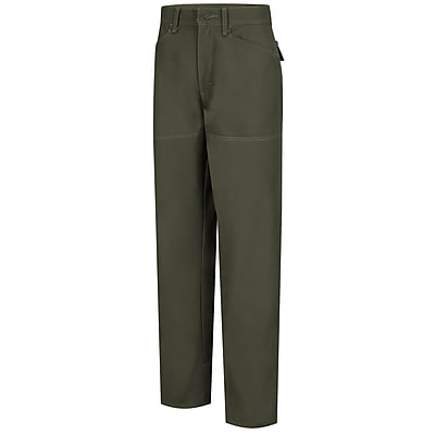 Horace Small Women's Brush Pants 22R x 34, Earth green