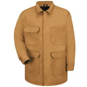 Red Kap  Unisex Blended Duck Chore Coat RG x M, Brown duck