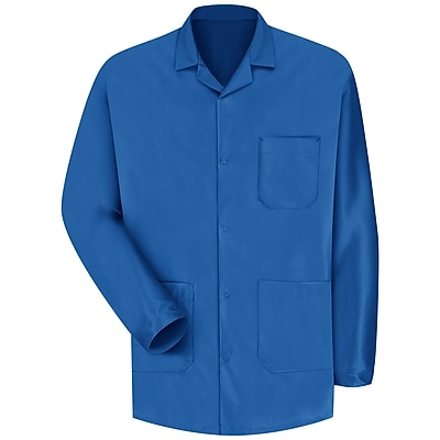 Red Kap Unisex ESD/Anti-Stat Counter Jacket RG x M, Electronic blue