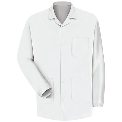 Red Kap Unisex ESD/Anti-Stat Counter Jacket RG x 3XL, White