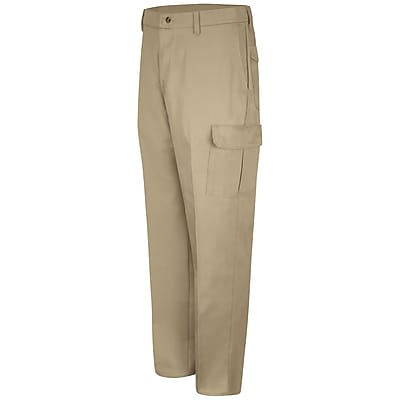 Red Kap Men's Cotton Cargo Pant 42 x 37U, Khaki
