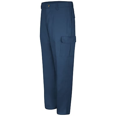 Red Kap Men's Cotton Cargo Pant 30 x 37U, Navy