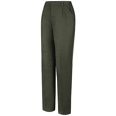 Horace Small Women's Twill Field Trouser 10R x 36U, Earth green