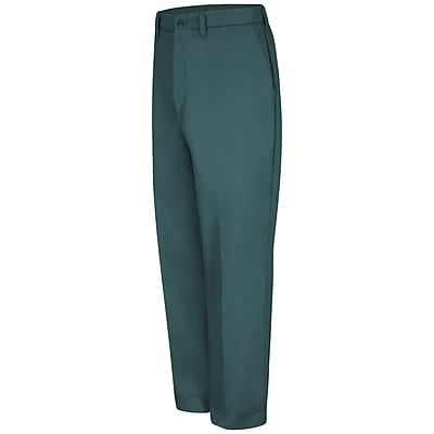 Red Kap Men's Red-E-Prest Work Pant 48 x 36U, Spruce green