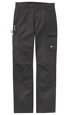 Red Kap Men's Shop Pant 42 x 37U, Charcoal