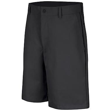 Red Kap Men's Plain Front Short 42 x 10, Black