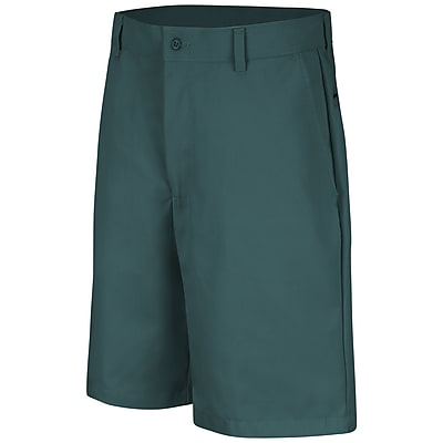 Red Kap Men's Plain Front Short 40 x 10, Spruce green
