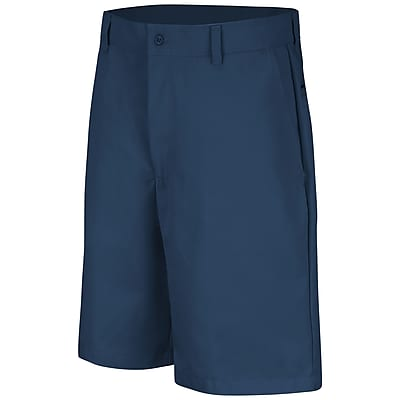 Red Kap Men's Plain Front Short 28 x 10, Navy
