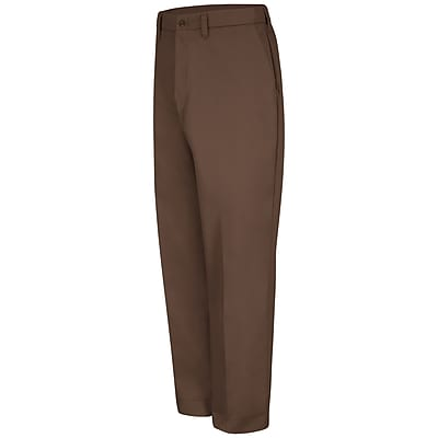 Red Kap Men's Red-E-Prest Work Pant 38 x 30, Brown