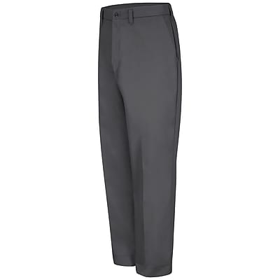 Red Kap Men's Red-E-Prest Work Pant 56 x 36U, Charcoal