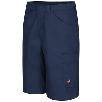 Red Kap Men's Shop Short 48 x 13, Navy