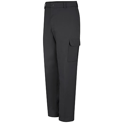 Red Kap  Men's Industrial Cargo Pant 32 x 30, Black