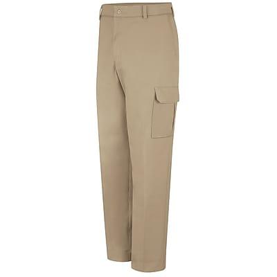Red Kap Men's Industrial Cargo Pant 44 x 32, Khaki