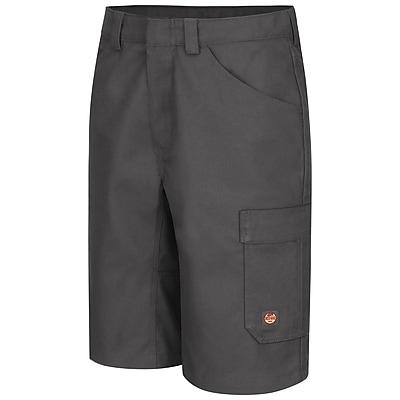 Red Kap Men's Shop Short 32 x 13, Charcoal