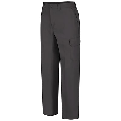 Wrangler Workwear Men's Functional Cargo Work Pant 46 x 32, Charcoal