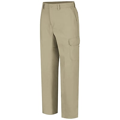 Wrangler Workwear Men's Functional Cargo Work Pant 38 x 32, Khaki