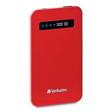 Verbatim Ultra-Slim Battery Power Pack, 4200mAh, Red
