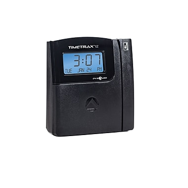Pyramid TimeTrax™ EZ Series Automated Swipe Card Time & Attendance System, Ethernet, Black (TTEZEK)