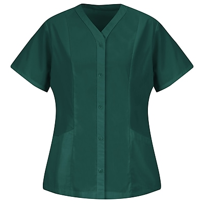 Red Kap Women's Easy Wear Tunic SS x XS, Emerald