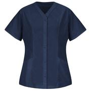 Red Kap Women's Easy Wear Tunic SS x S, Navy