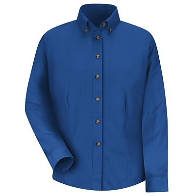 Red Kap Women's Meridian Performance Twill Shirt RG x L, Royal blue