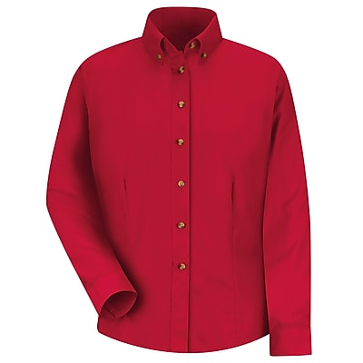 Red Kap Women's Meridian Performance Twill Shirt RG x XXL, Red