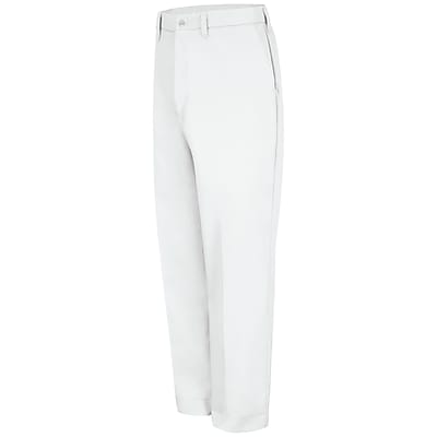Red Kap Men's Red-E-Prest Work Pant 33 x 32, White