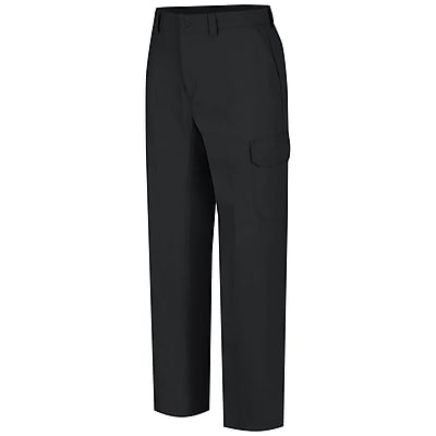 Wrangler Workwear Men's Functional Cargo Work Pant 36 x 32, Black
